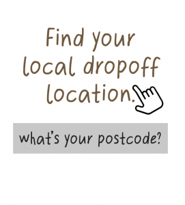 find your local drop off location button