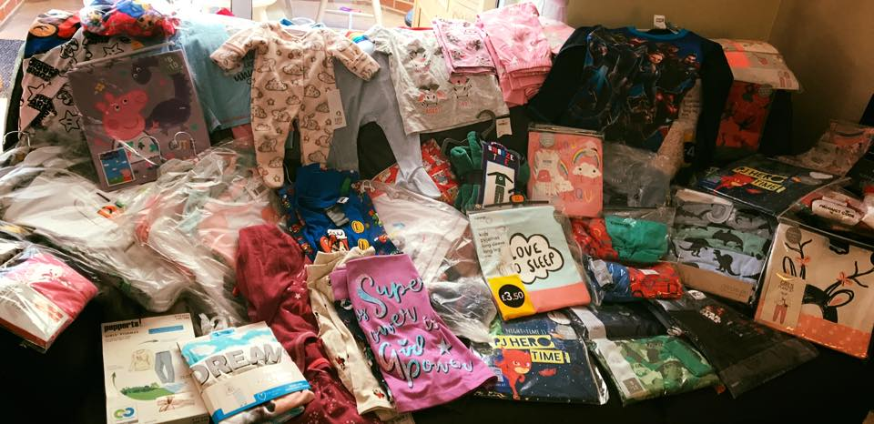 pyjama collection from lyonshall school