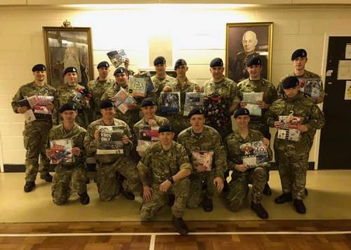 Thank you to D Squadron, The Royal Yeomanry. They have collected a superb amount of pyjamas for our appeal!