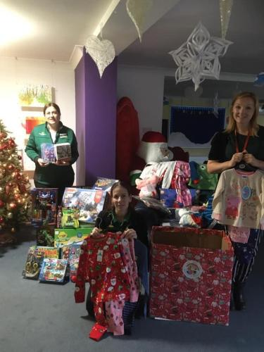 So yesterday we dropped to Demelza Hospice for sick children in Sittingbourne, we joined forces with Jemma our lovely Community Champion from Morrison's in Dover,who were one of our main collection points in Kent and avid supporters of CHP . We also delivered boxes of toys alongside the Pyjamas which Morrison's had donated by staff and customers. I love it when we work alongside our supporters for a common goal.