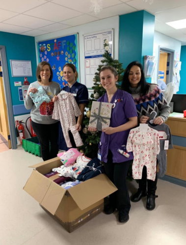 Yesterday our lovely volunteer Claire dropped to Frimley Park Hospital and today she dropped to Southampton General Hospital. There will be lots of smiles because of your generosity.