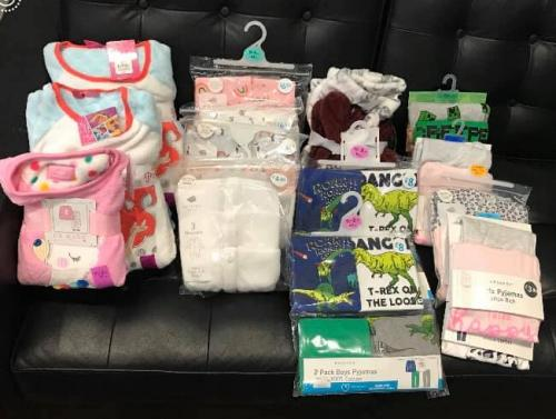 Thanking FS Properties for there kind donation of 25 pairs of pyjamas today. They heard we were low an stepped in to try an help. We appreciate your support.